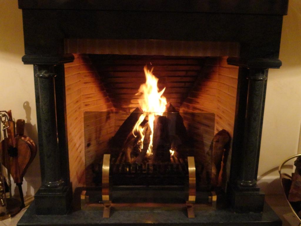 Frente a la chimenea concha huerta arte y cultura - Cocinar en la chimenea ...