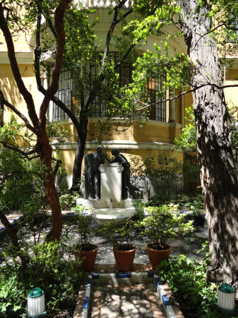 En el jard n de sorolla concha huerta arte y cultura for Jardin 05