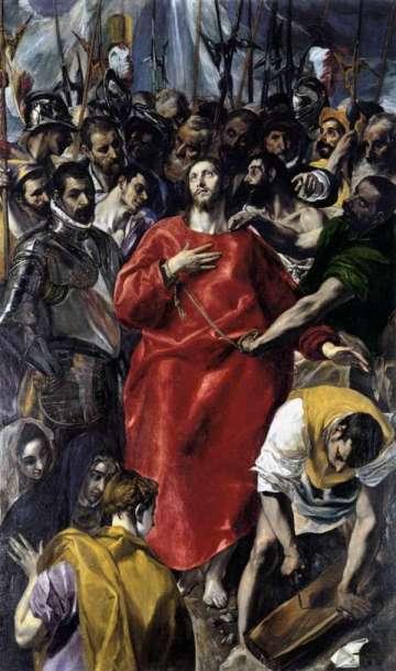 el expolio de cristo El Greco