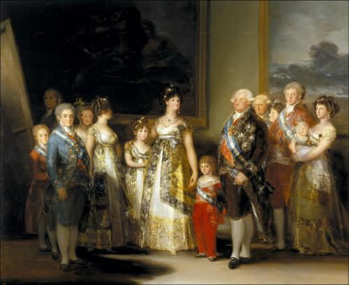 la_familia_de_carlos iv de Goya
