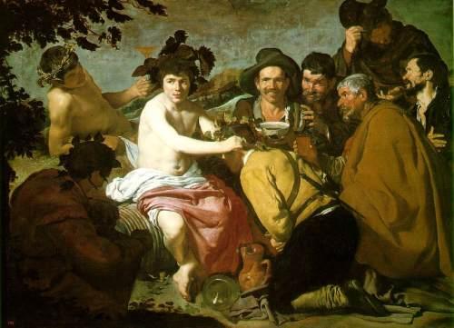 los borrachos de velazquez