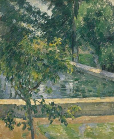el estanque del jas de bouffan 1878-9