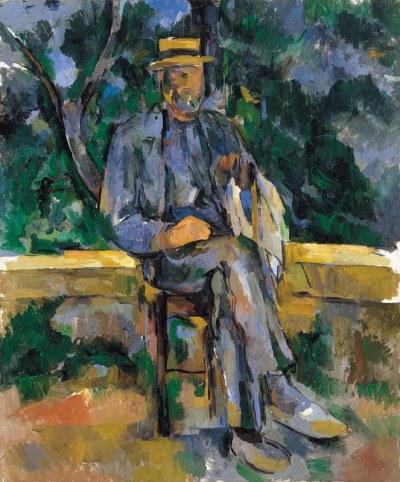 PAUL CÉZANNE. Retrato de un campesino, 1905-1906