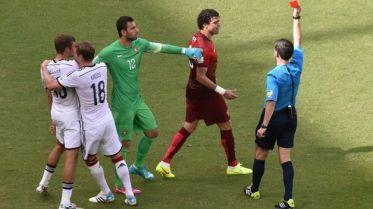 Alemania arrolla a Portugal