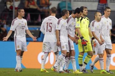 la seleccion española pierde ante Holanda
