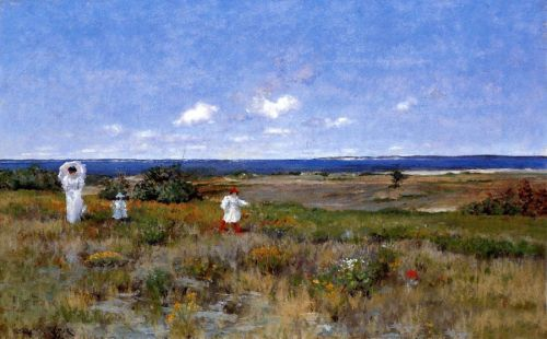 William-Merritt-Chase-Near-the-Beach-font-b-Shinnecock-b-font-in-view