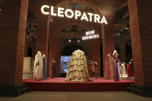 vestuario de Cleopatra